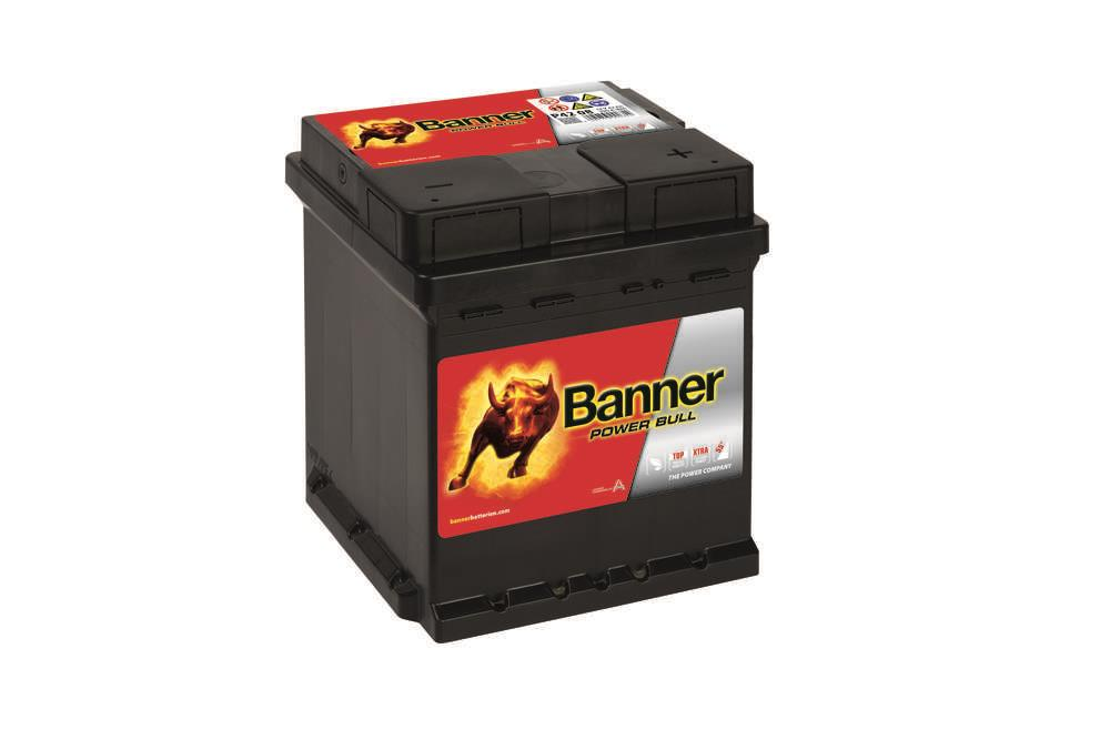 Autobaterie Banner Power Bull    12V 42Ah 390A P42 08