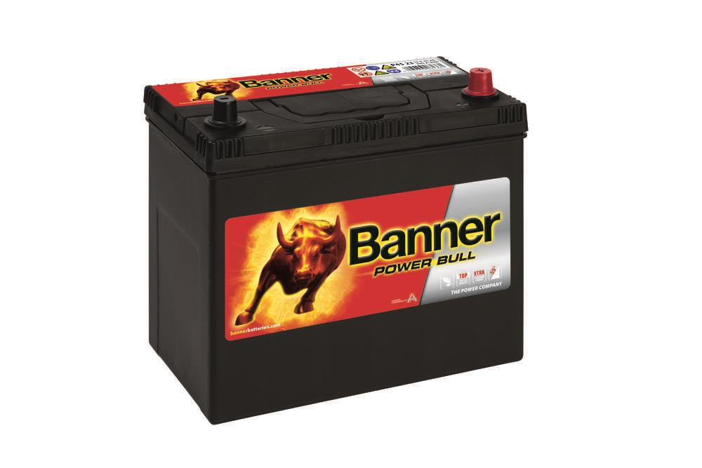 Autobaterie Banner Power Bull    12V 45Ah 390A P45 23