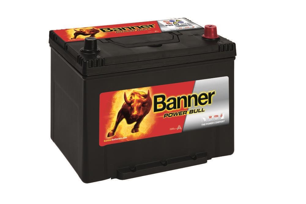 Autobaterie Banner Power Bull    12V 80Ah 640A P80 09
